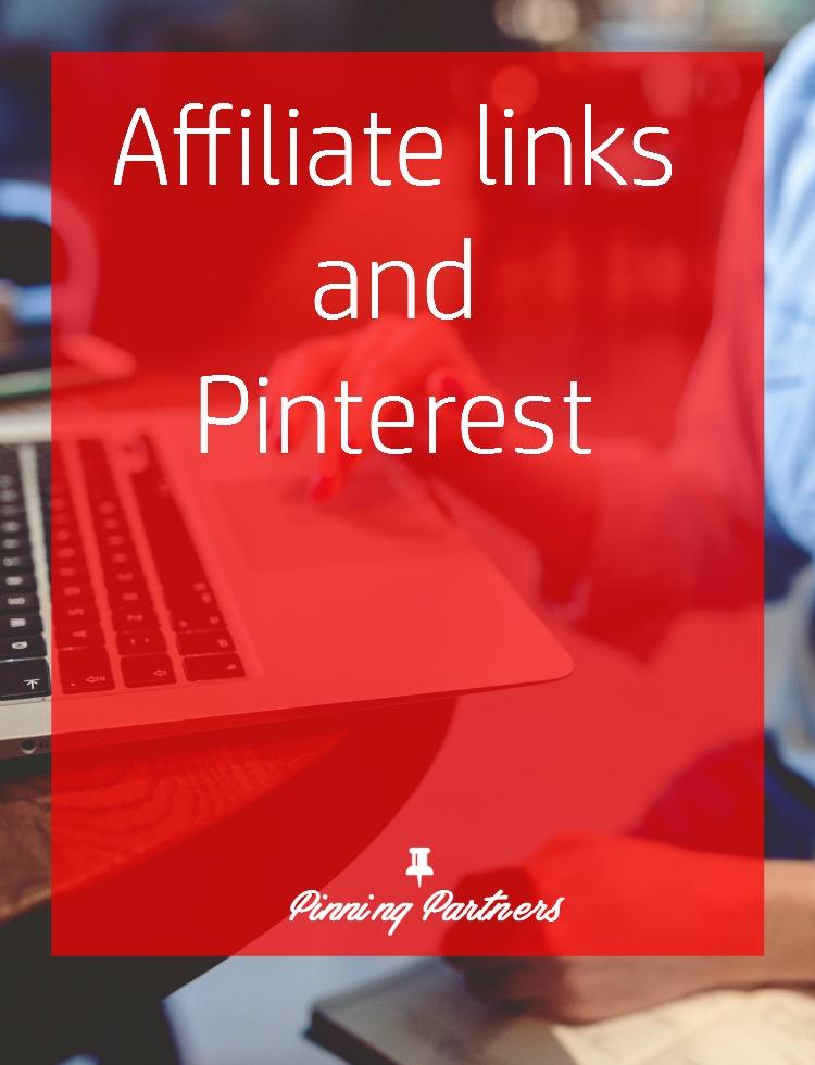 Affiliate links on Pinterest