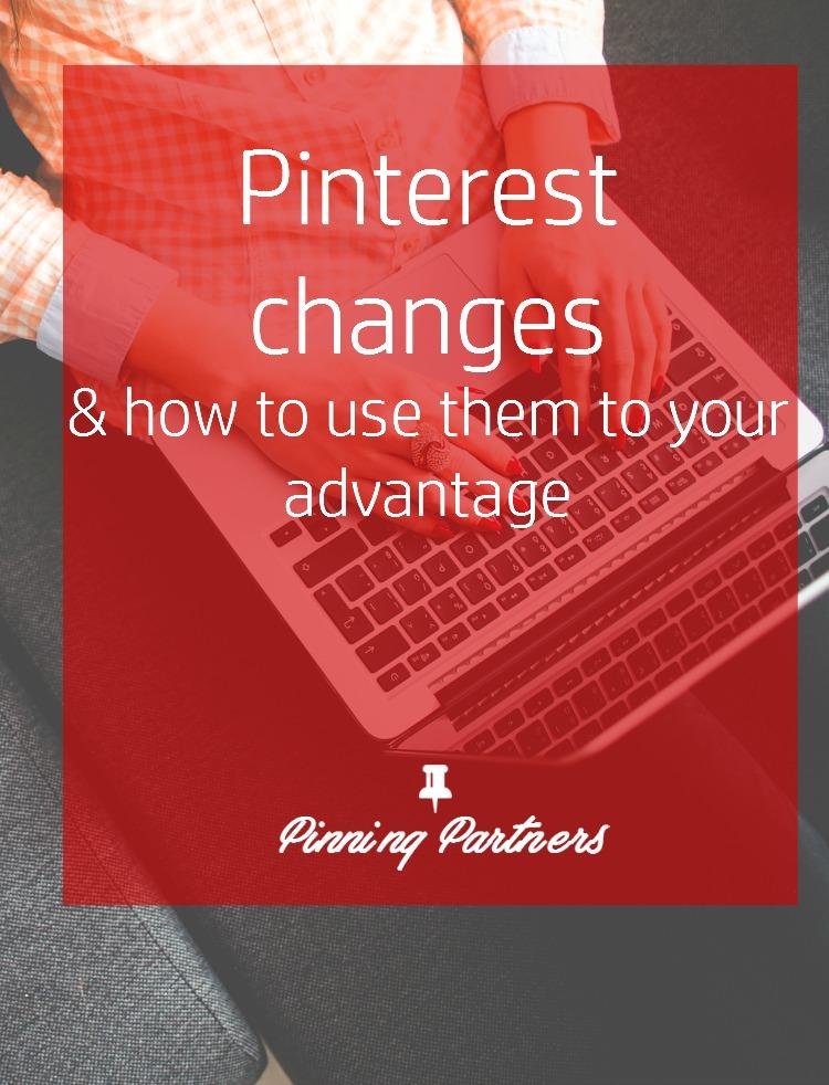Pinterest's new changes