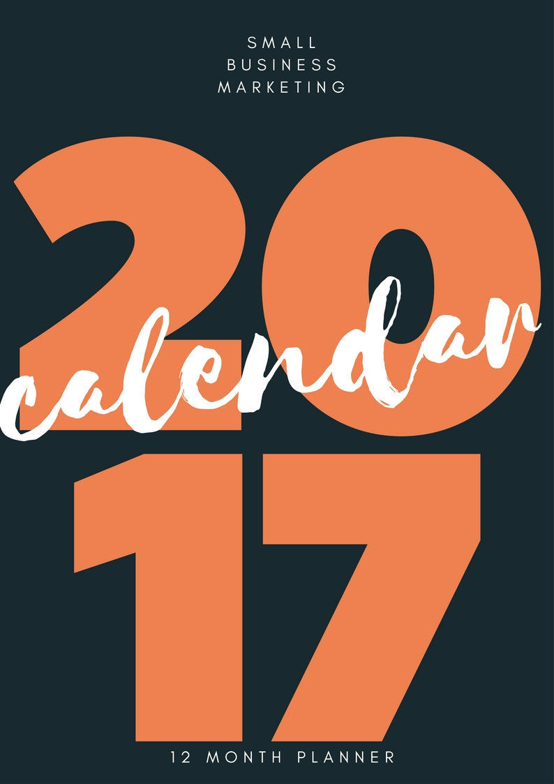2017 Small business marketing planner