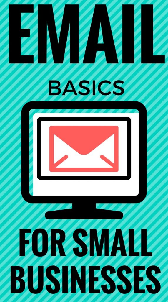 Email basics for your small business or blog