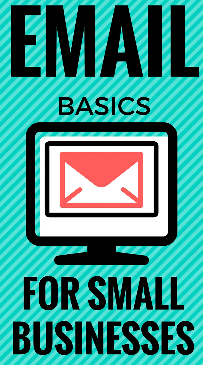 Email basics for small business