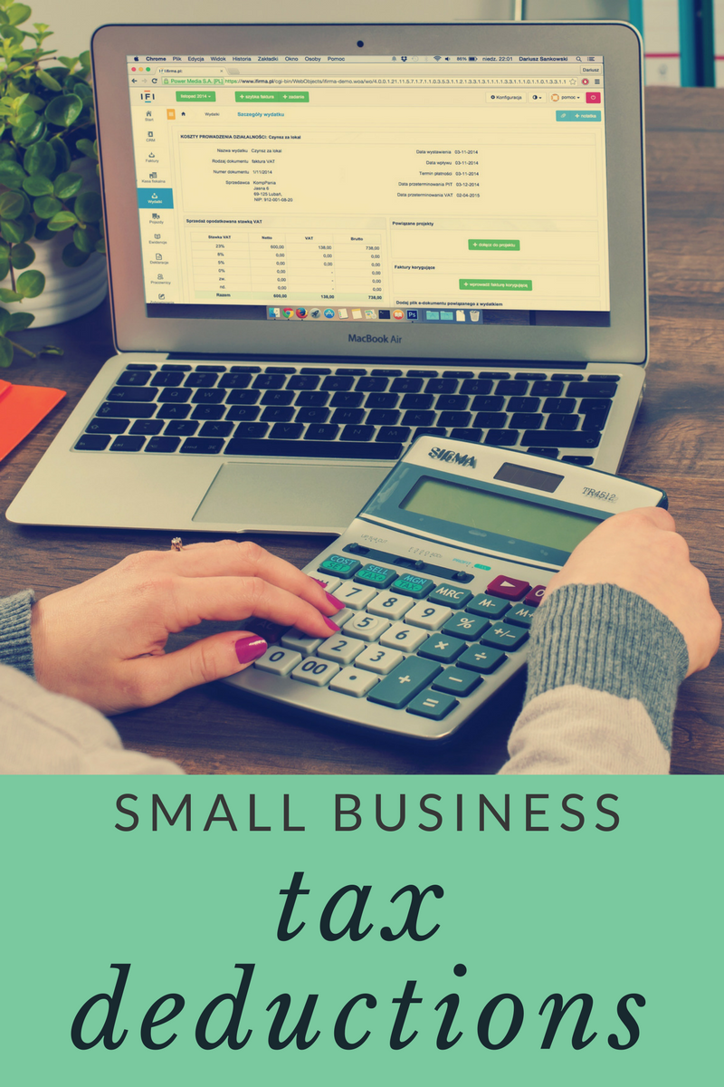 Important tax deductions for small business owners