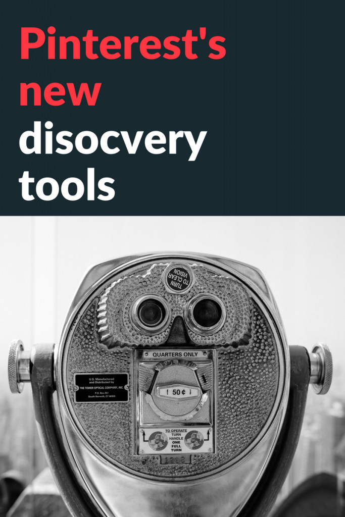 Pinterest's new discovery tools - how to use them