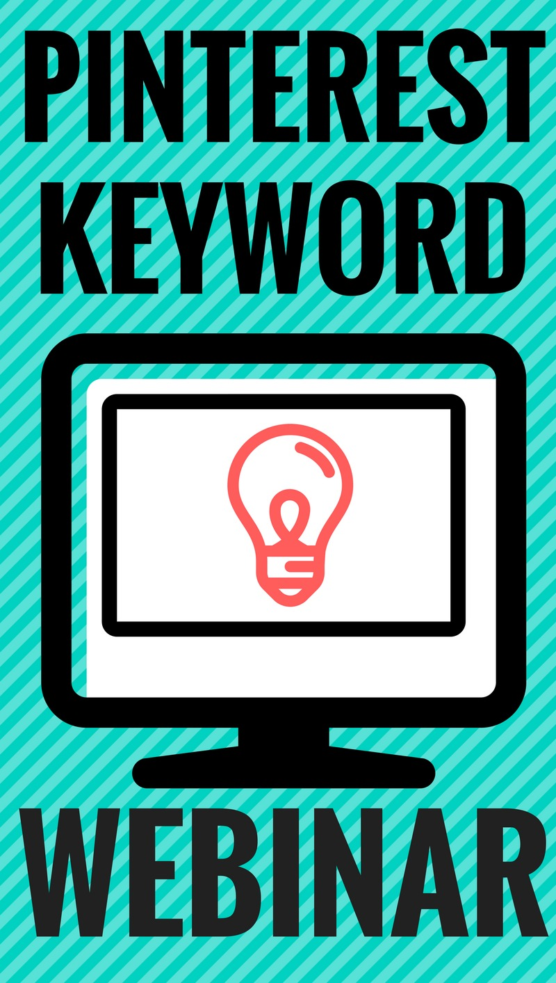 New to keywords_ They are the bread and butter of Pinterest marketing! Check out this free webinar on why you need keywords and where to put them!